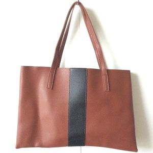 NWOT Vince Camuto Luck Tote - vegan leather